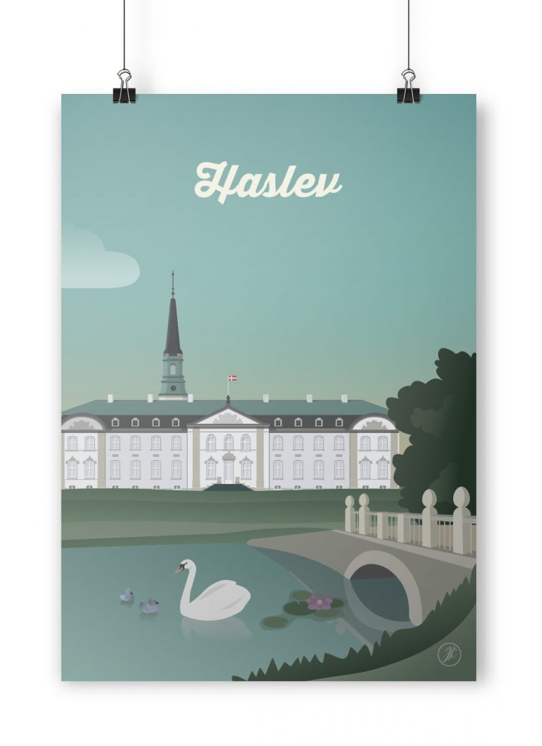 Haslev Poster